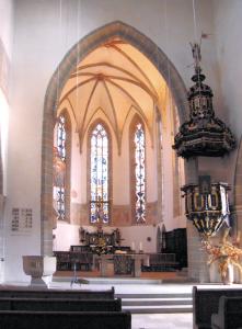 Innerhalb der Kirche